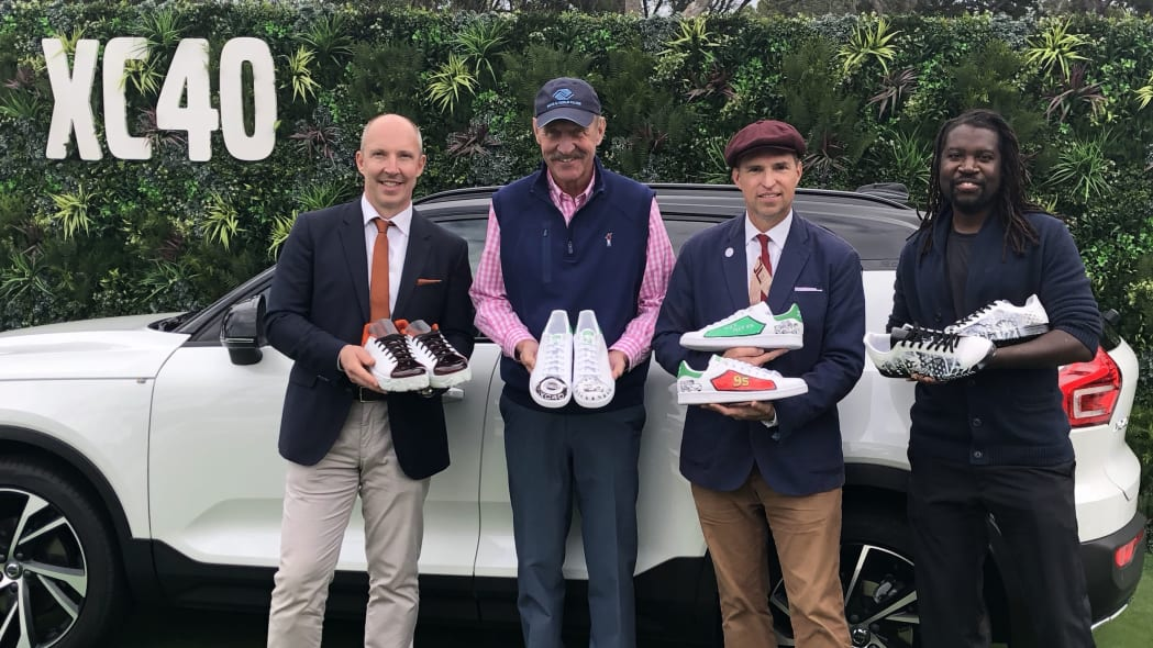 Hilton Head Volvo XC40-inspired Stan Smith shoes
