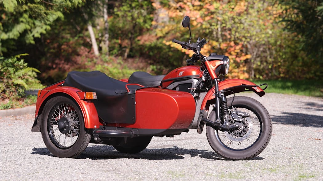 Ural Electric Prototype sidecar motorcycle