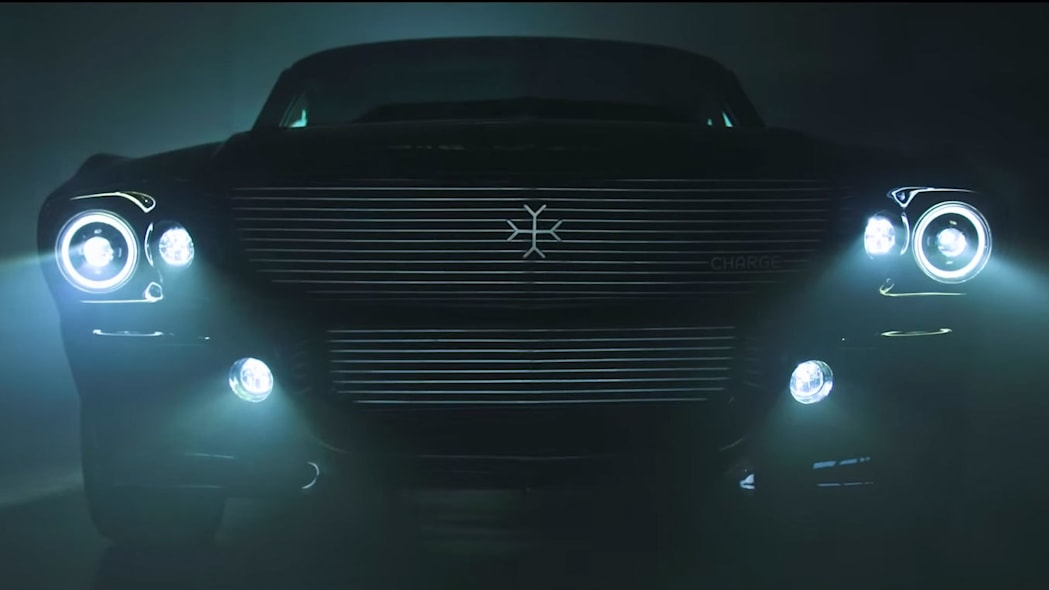 Charge electric Mustang