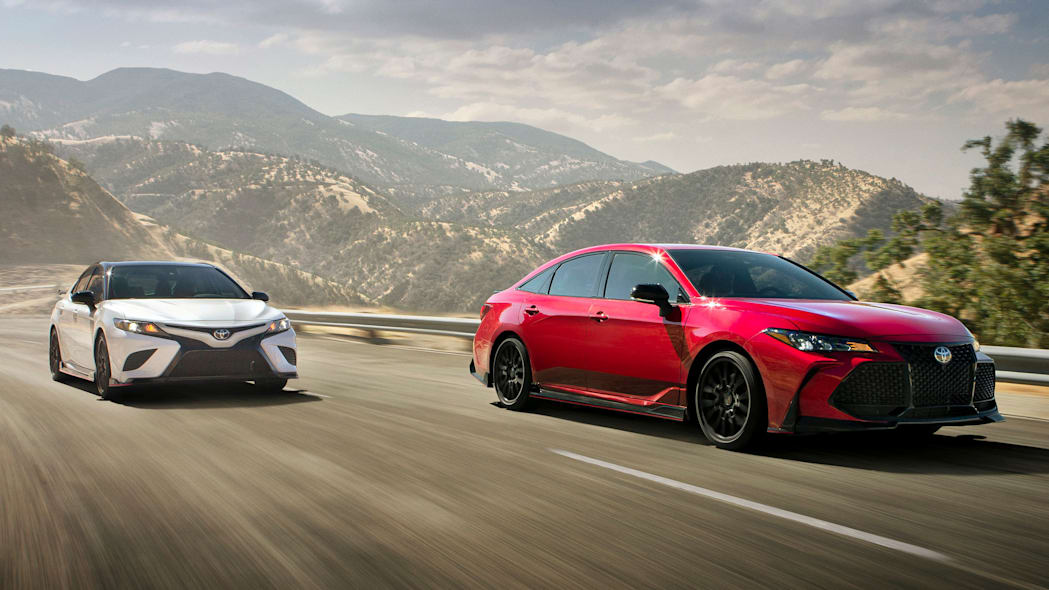 2020 Toyota Camry and Avalon TRD