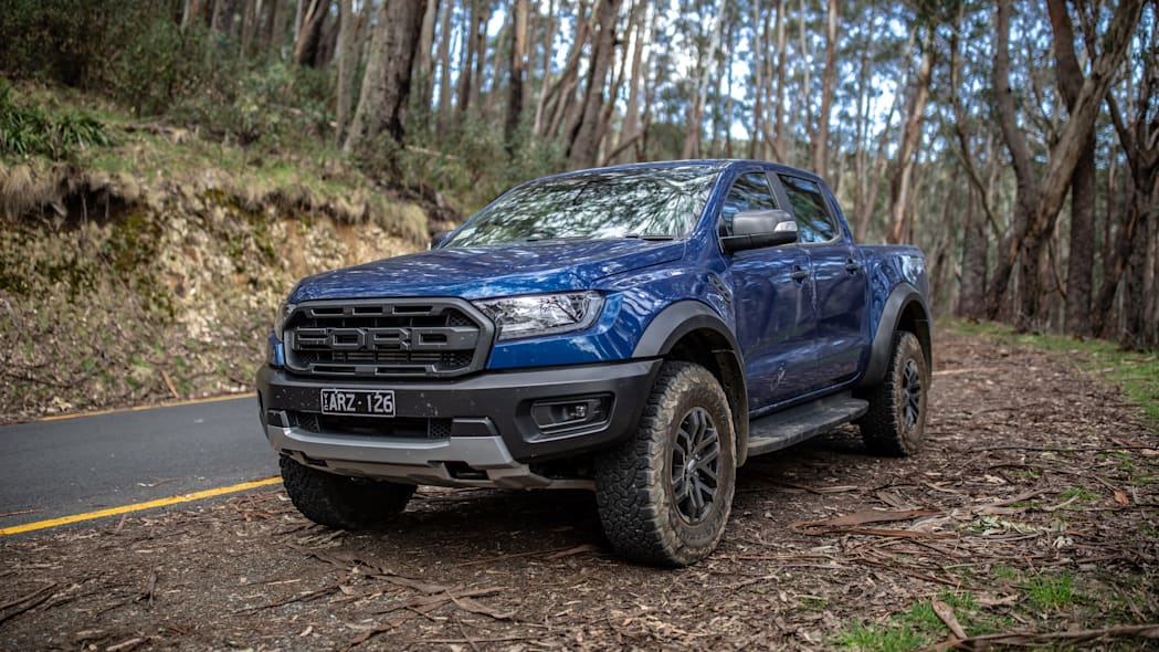 2019 Ford Ranger Raptor in Australia