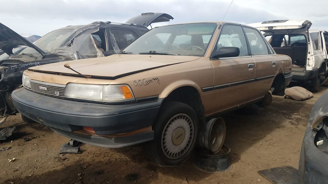 1990 Toyota Camry in Colorado wrecking yard