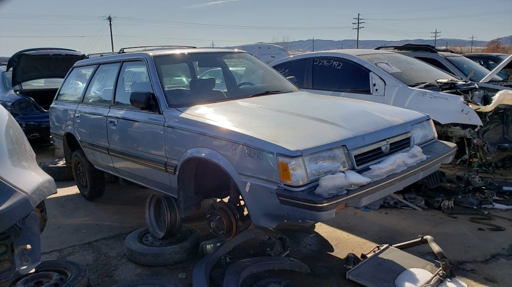 1987 Subaru GL-10 wagon in Colorado junkyard