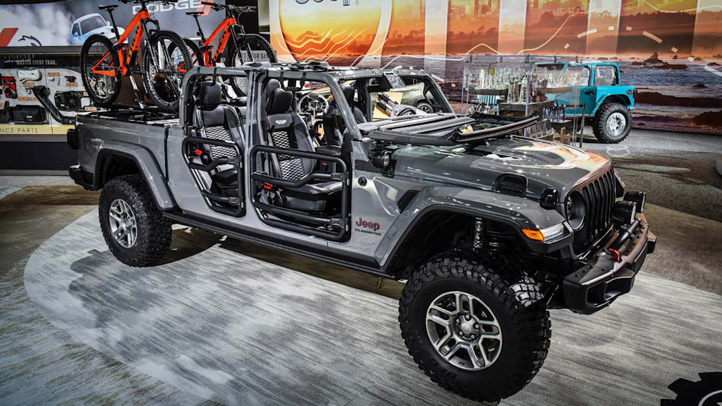 2020 Jeep Gladiator accessories