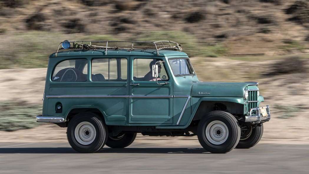 1962 Jeep Willys Station Wagon Restomod