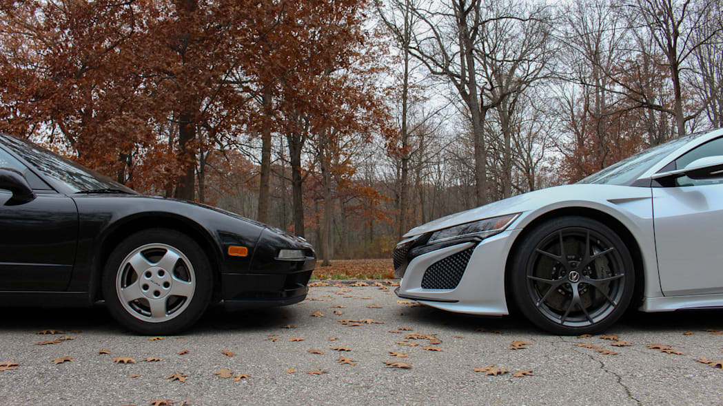 2019 Acura NSX and 1991 Acura NSX