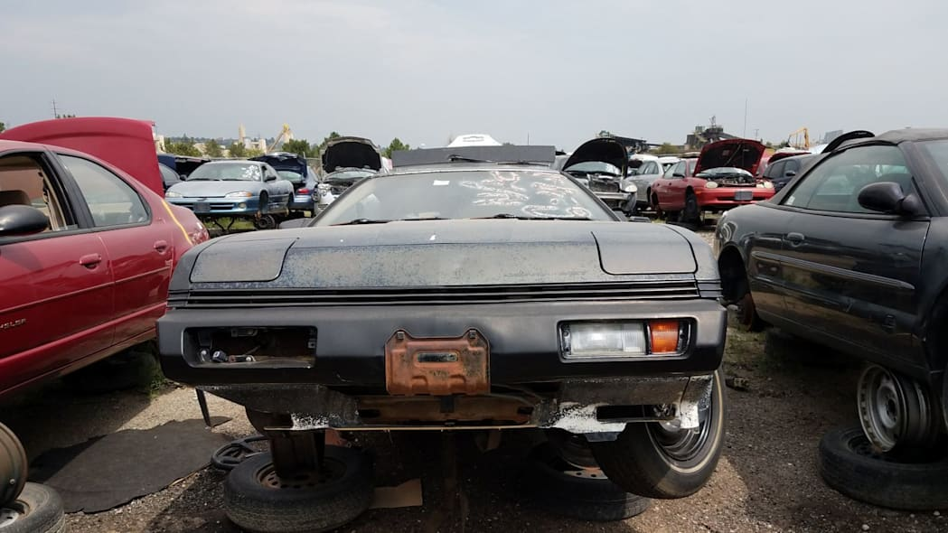 1987 Chrysler Conquest TSi in Colorado wrecking yard