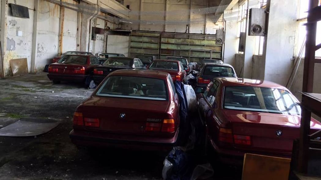 Bulgarian BMW 5 Series barn finds
