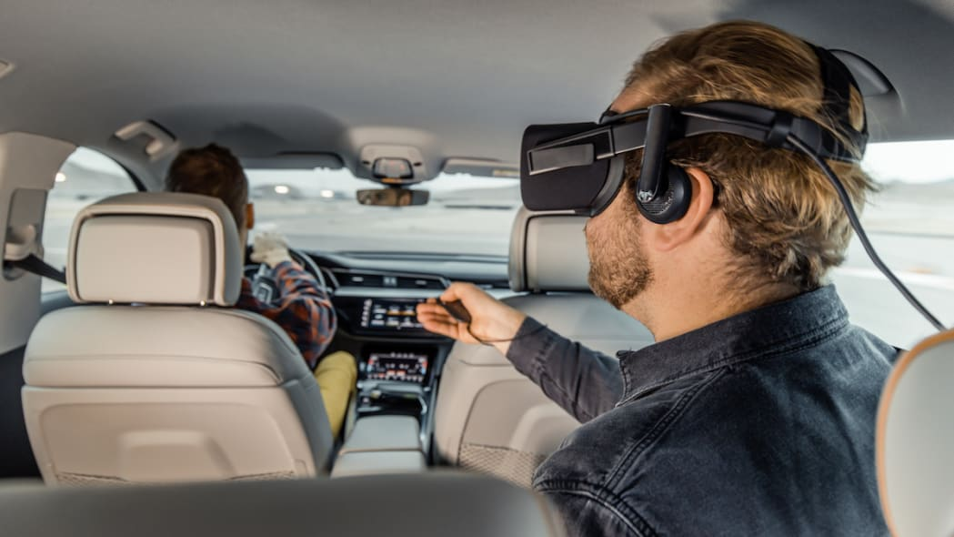 Audi e-Tron virtual reality CES