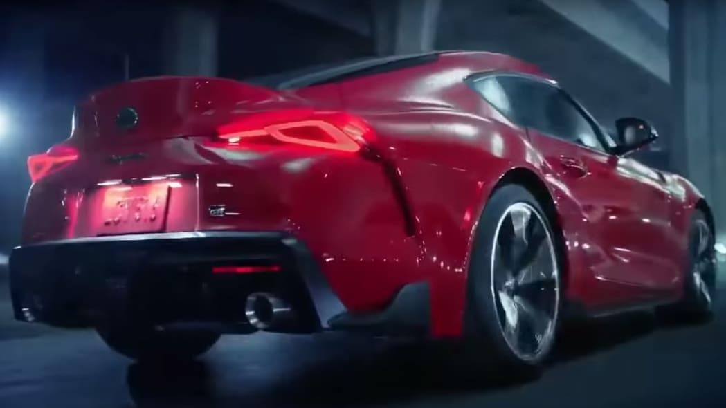 2020 Toyota Supra leaks in official video.