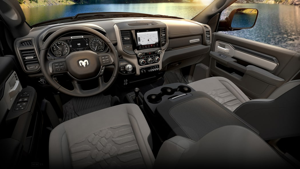 2019 Ram 2500 HD and 3500 HD interior
