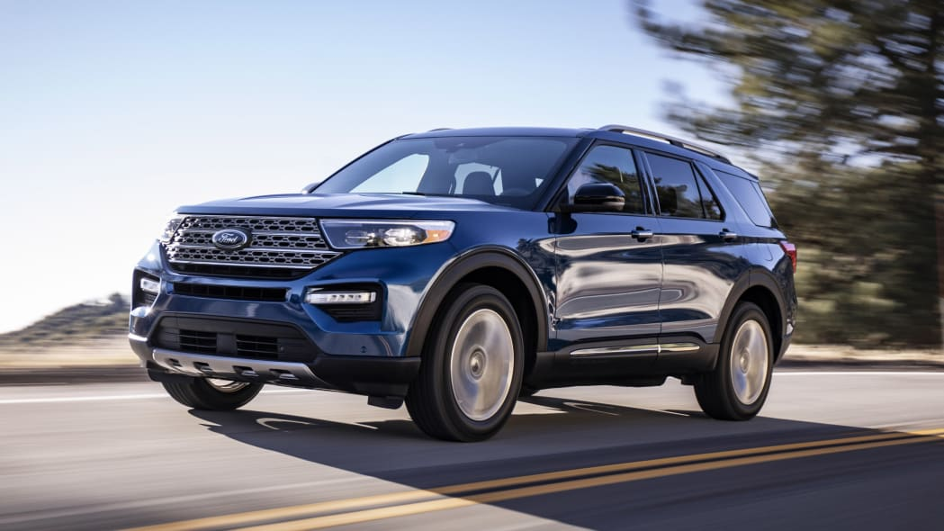 Third Place: 2020 Ford Explorer