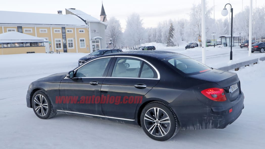 Mercedes-Benz E-Class spy photos