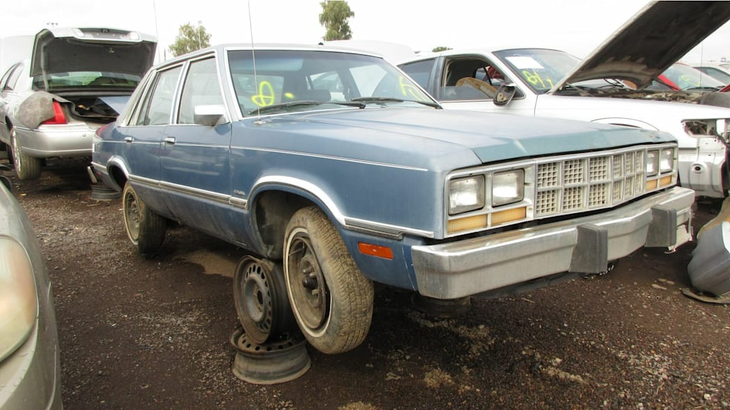 Junked 1982 Ford Fairmont Futura