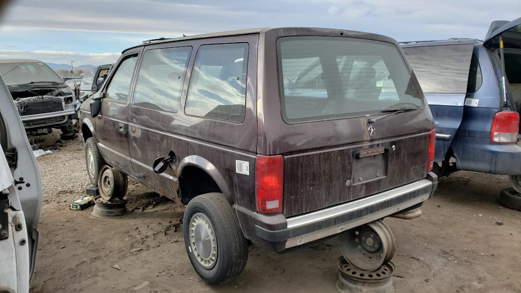 Junked 1990 Plymouth Voyager Turbo