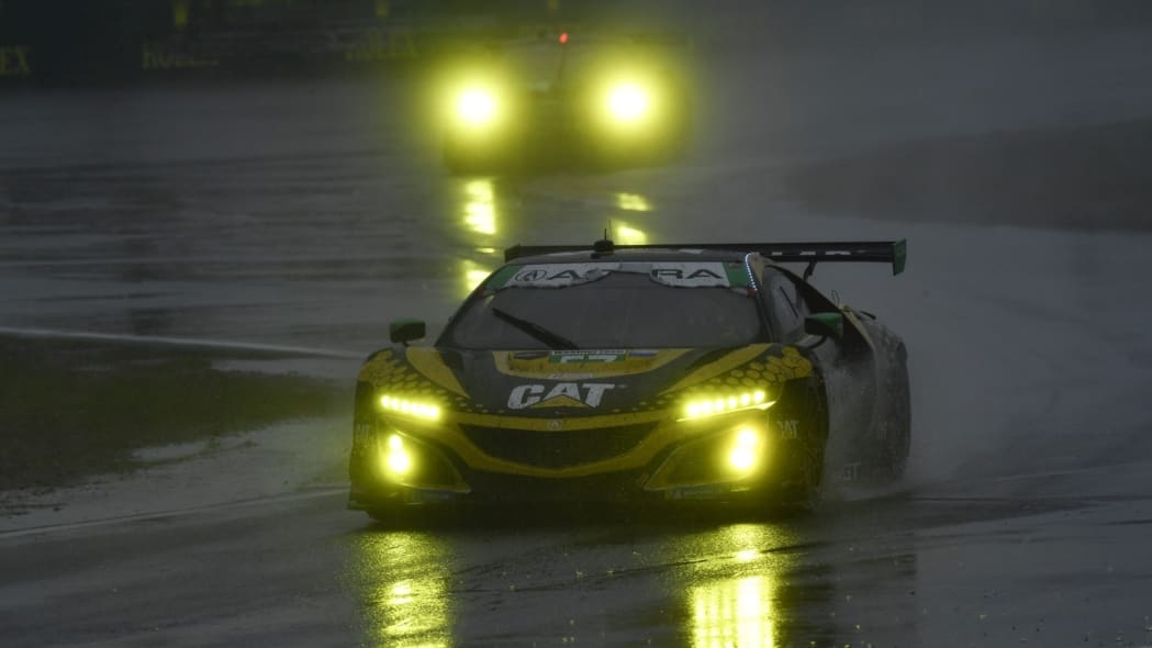 No. 57 Heinricher Racing with Meyer Shank Racing Acura NSX GT3 Evo