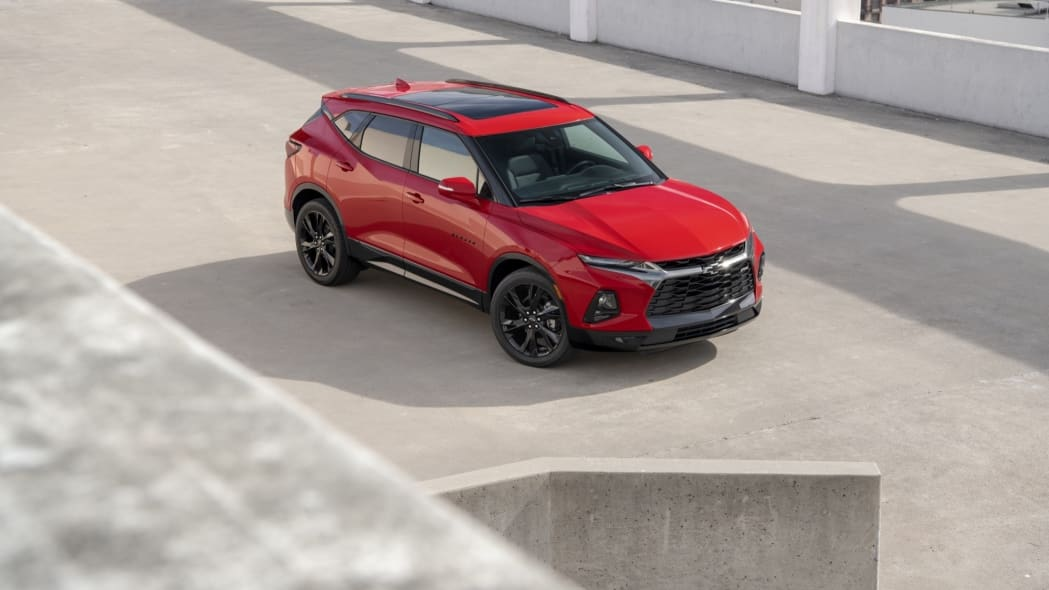 2019 Chevrolet Blazer red static cuv crossover