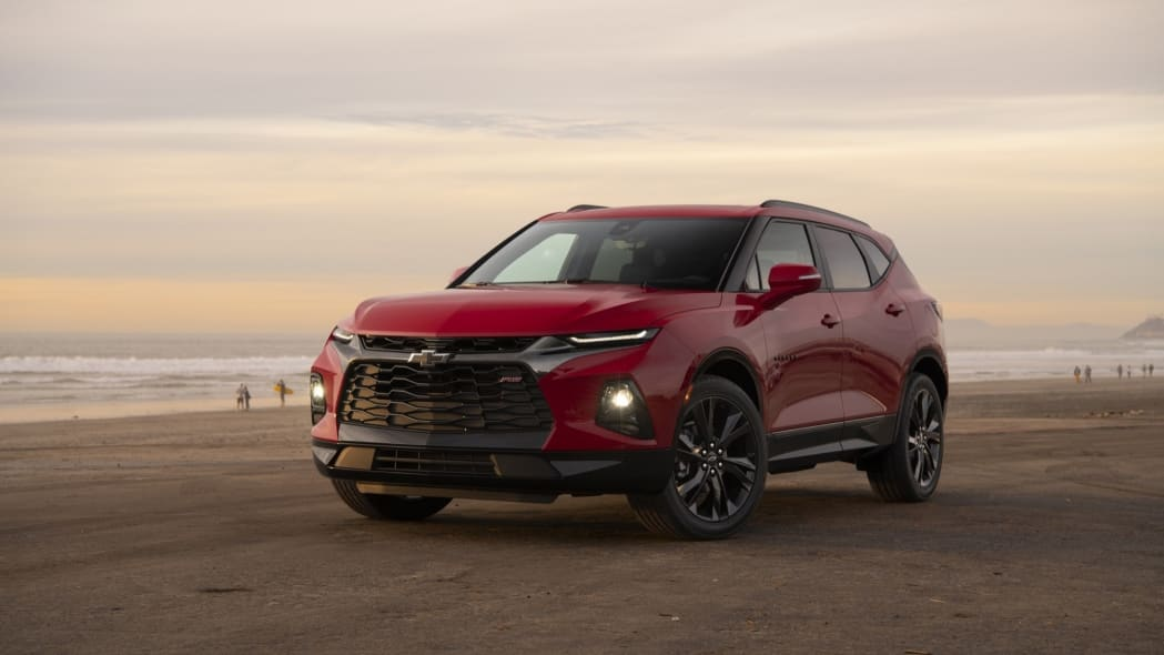 2019 Chevrolet Blazer red beach crossover