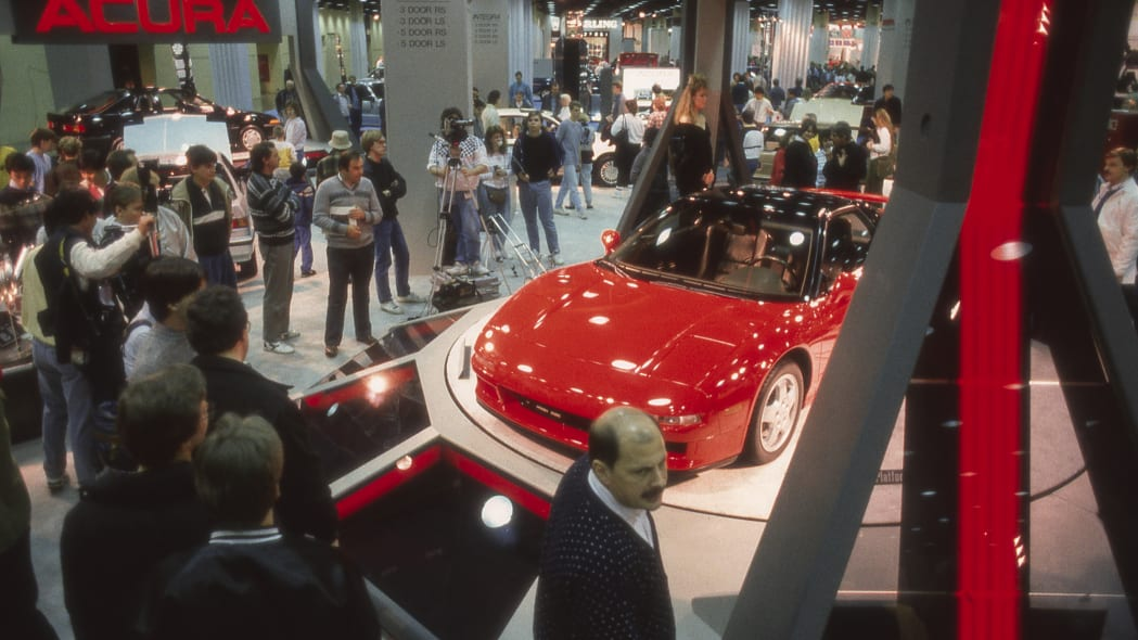 Acura NS-X Concept at the 1989 Chicago Auto Show