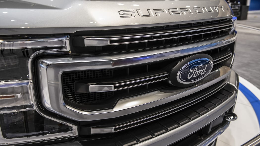 2020 Ford F-Series Super Duty Grille