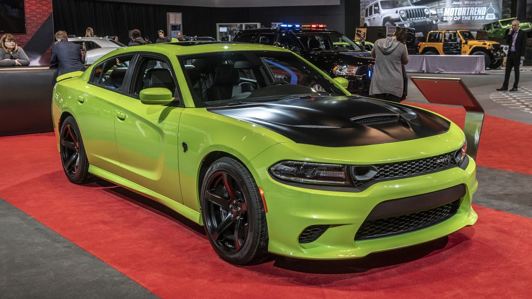 2019 Dodge Charger SRT Hellcat Sublime Green