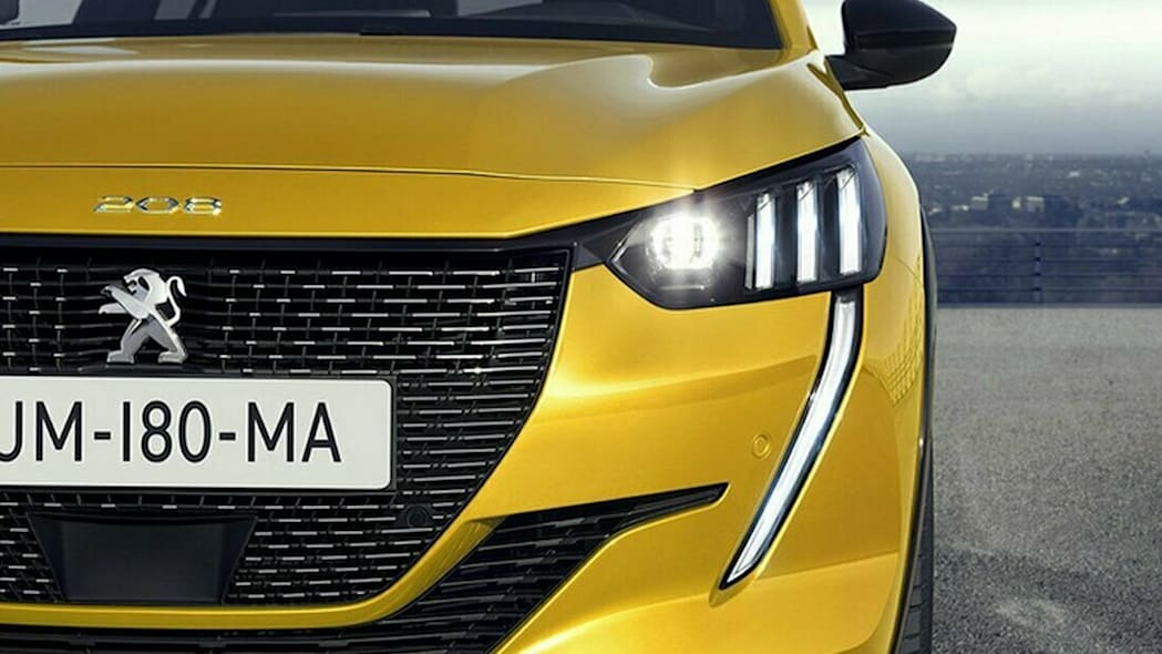 2019 Peugeot 208 leaked images