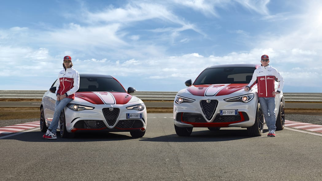 Alfa Romeo Racing Editions of the Giulia and Stelvio