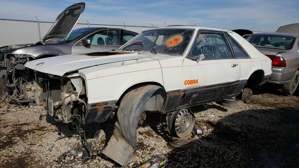 Junked 1979 Ford Mustang Cobra