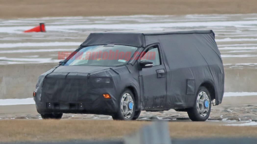 Ford Courier spy shots
