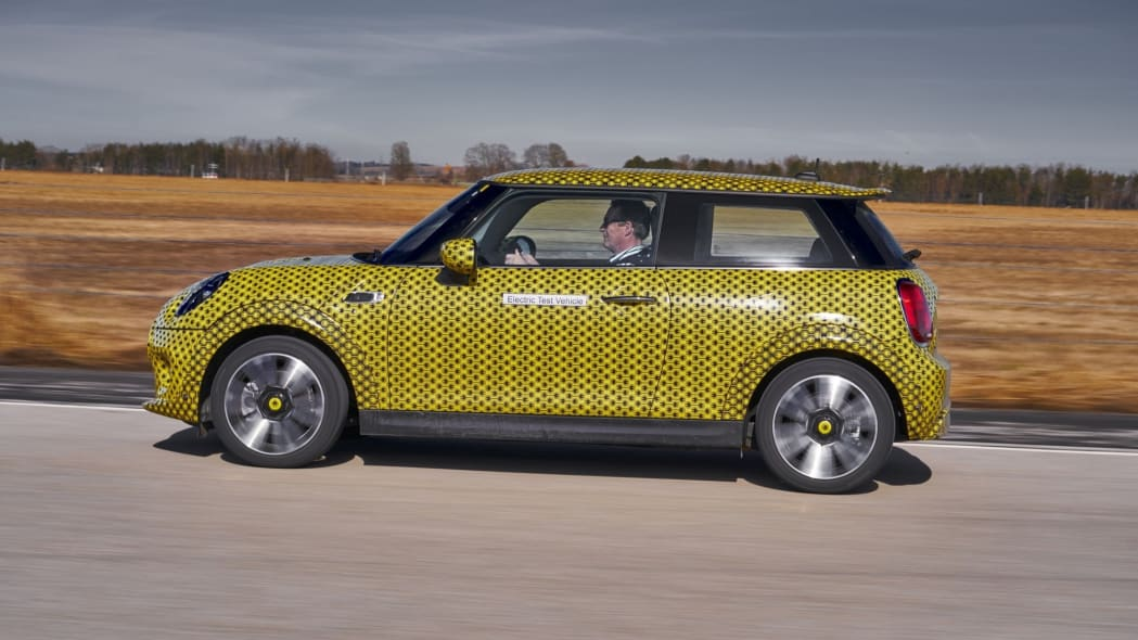 Mini Cooper SE EV Hatchback Prototype