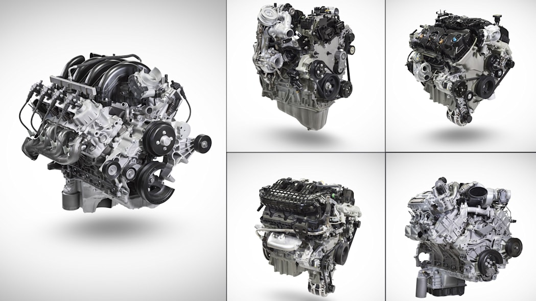 Ford commercial engines