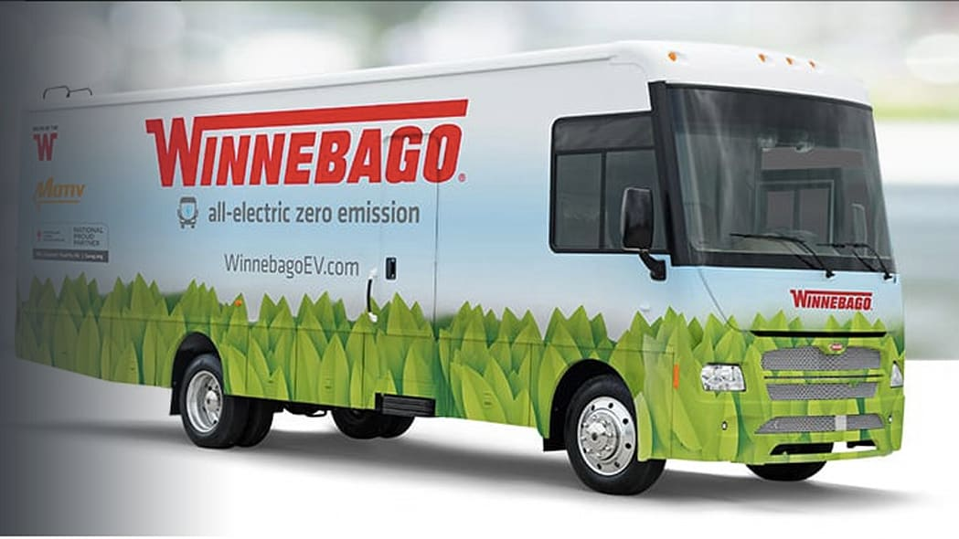 Winnebago electric specialty vehicle