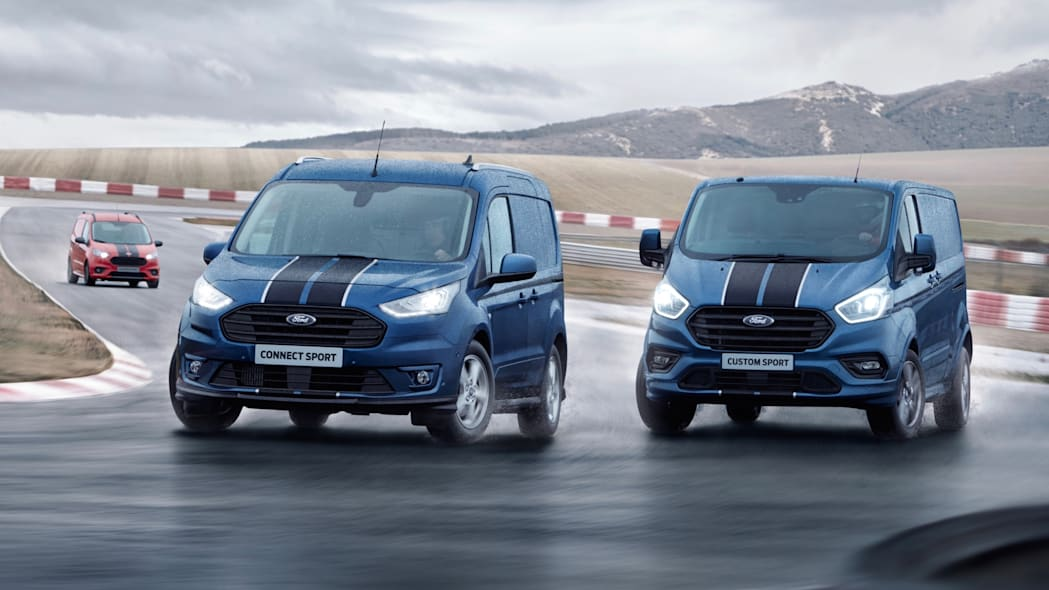Ford Transit Sport lineup