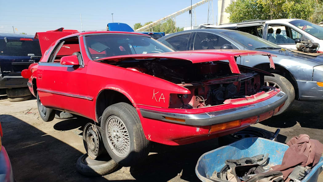 Junkyard Gem: 1990 Chrysler TC by Maserati