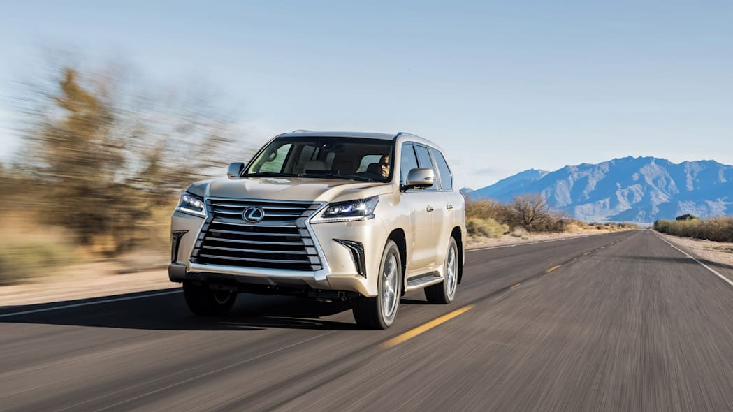 Lexus trademarks enigmatic LX 600 nameplate