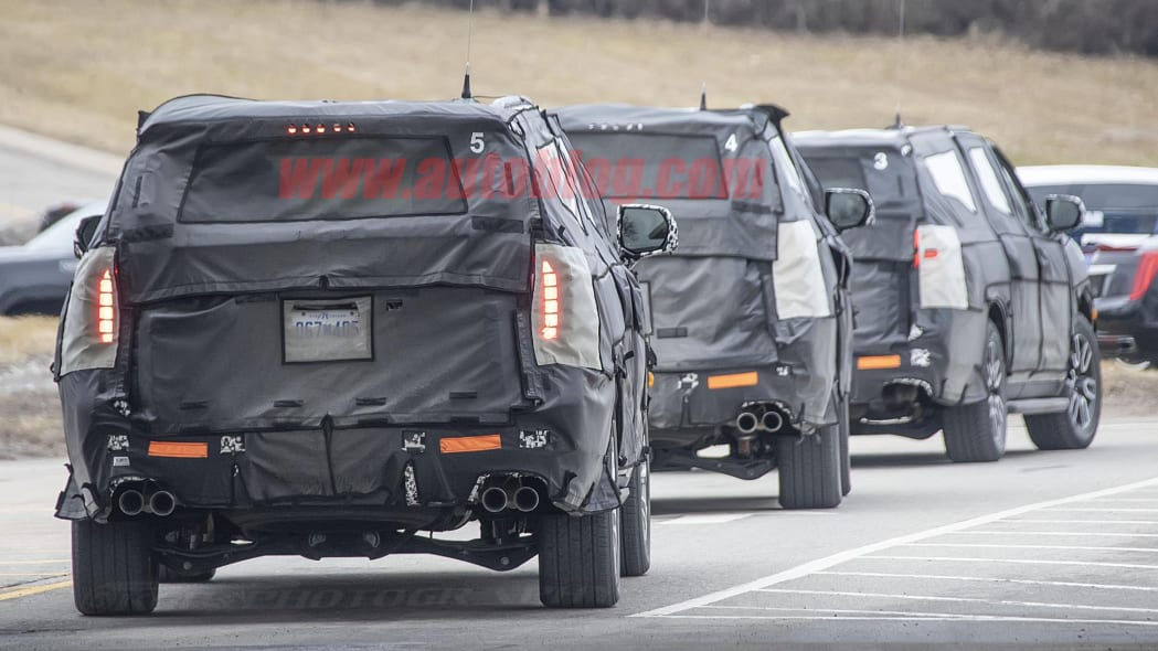 VWVortex.com - 2020 Tahoe / Yukon spied, almost production ready