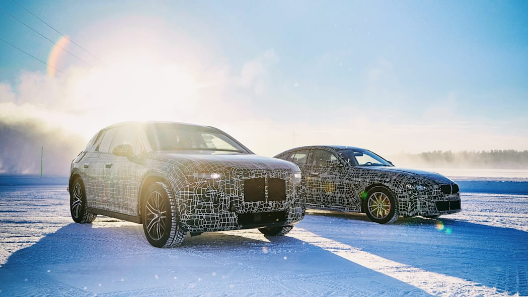 BMW EVs winter testing
