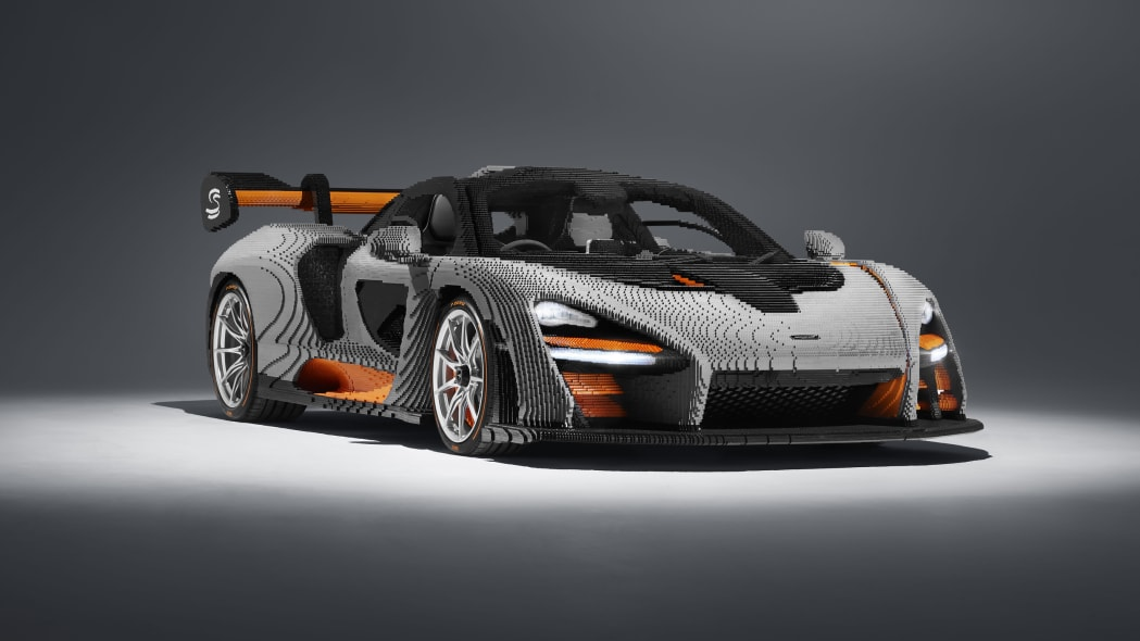 Lego built a full-size McLaren Senna, and it's glorious
