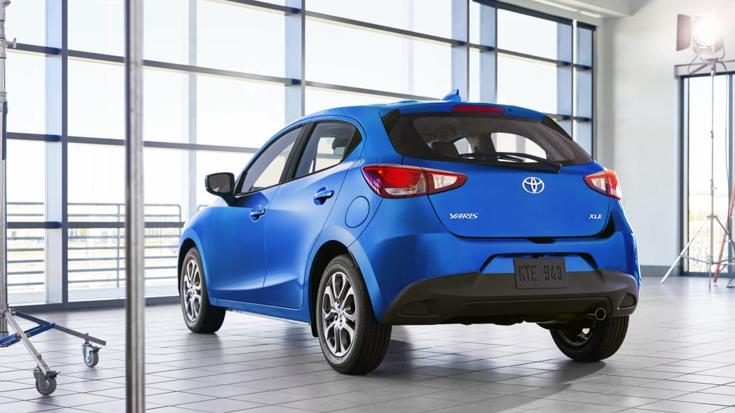 2020 toyota yaris hatchback unveiled autoblog. Black Bedroom Furniture Sets. Home Design Ideas