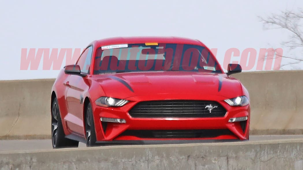 2020 Ford Mustang entry-level performance model