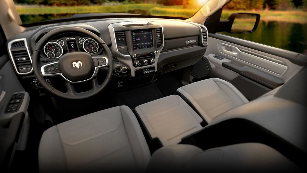 2019 Ram 1500 Big Horn â Black Diesel Interior