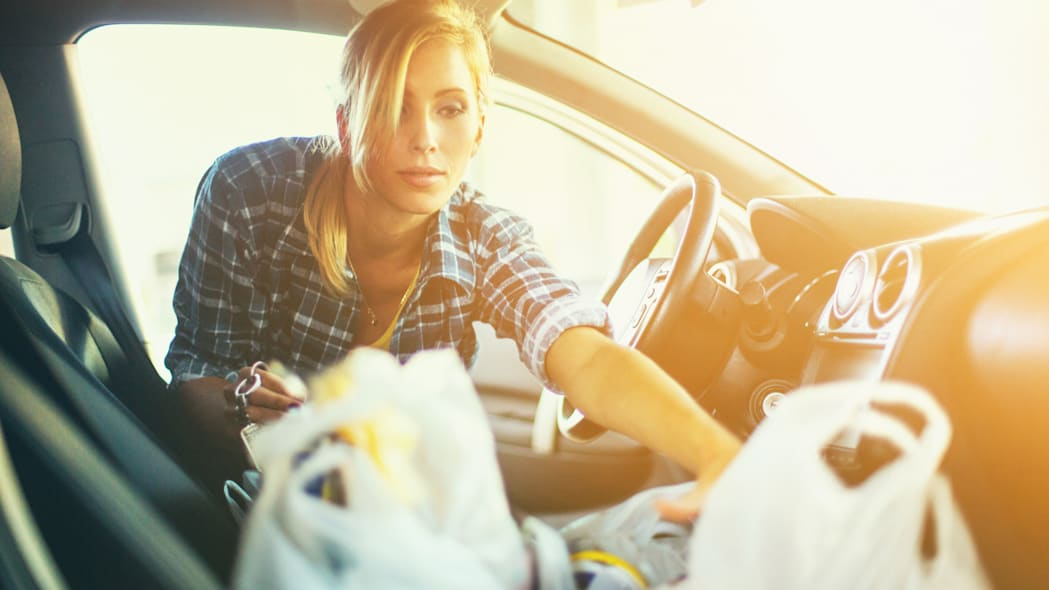You don't have to live with a messy car