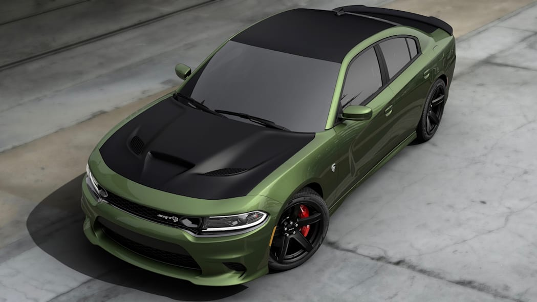 2019 Dodge Charger Hellcat Painted Satin Black Package