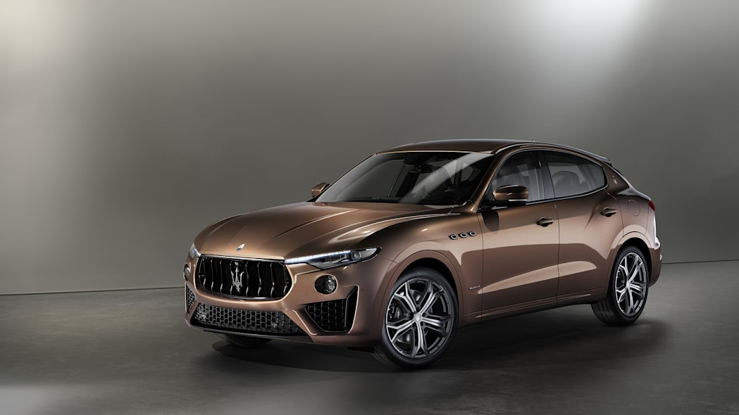Maserati showcasing opulent Levante options in New York