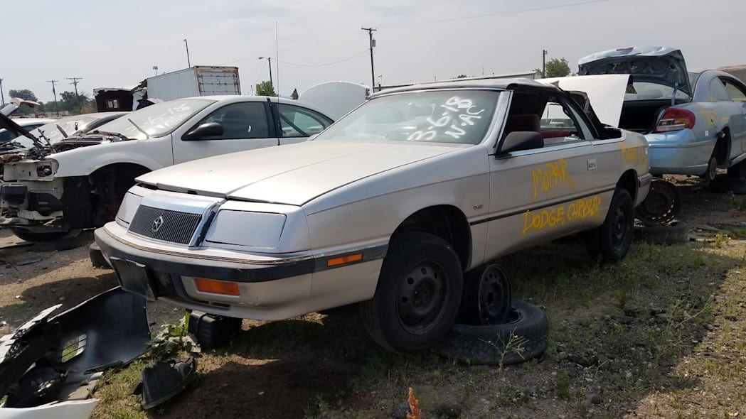 Junked 1991 Chrysler LeBaron convertible