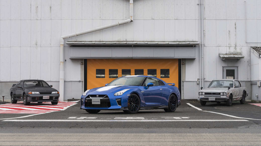 Nissan GT-R 50th Anniversary Edition celebrates, well, you know