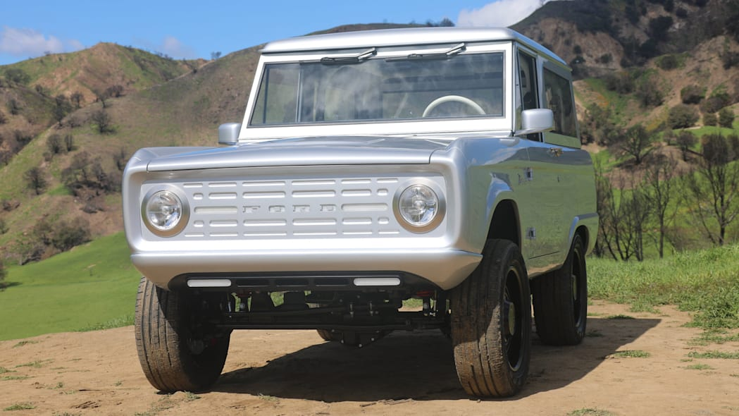 Electric Ford Bronco by Zero Labs