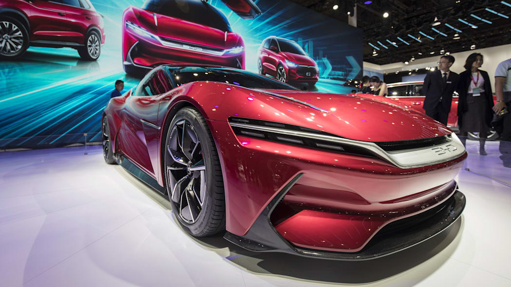 Inside the Shanghai Auto Show