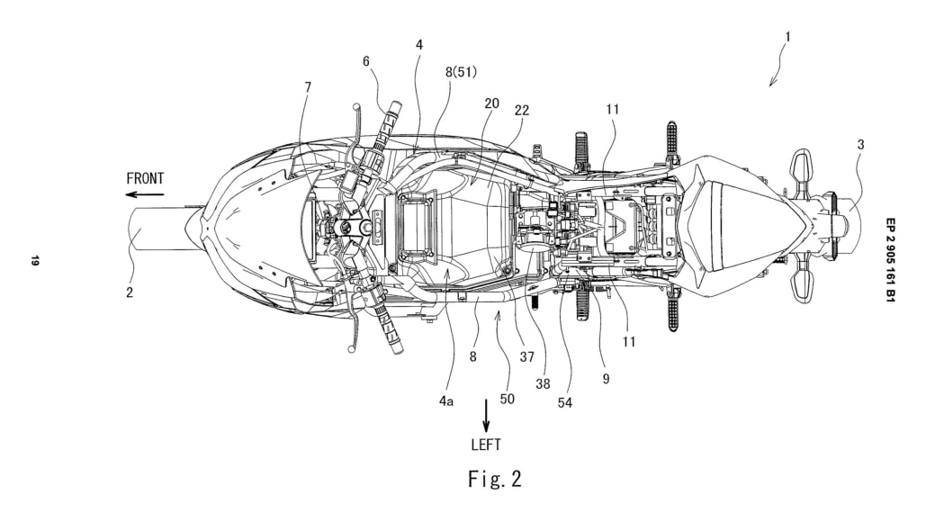 Kawasaki Ninja Battery Swap Patent