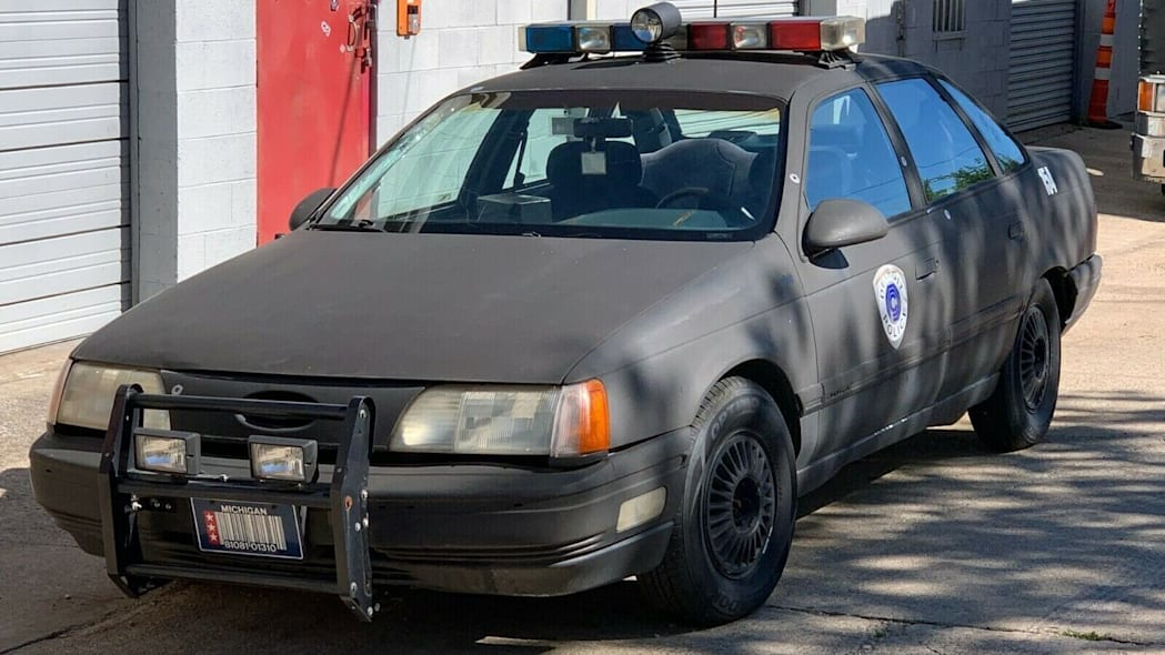You can buy this Robocop Ford Taurus police car replica